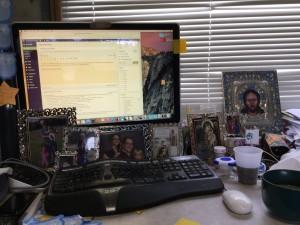 my desk photo